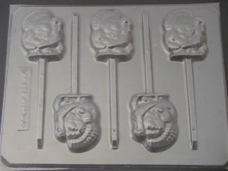 7000 Turkey Medium Chocolate or Hard Candy Lollipop Mold