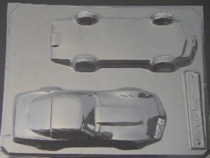 3014 Corvette 3D Car Chocolate Candy Mold