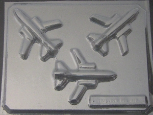 3009 Airplane Chocolate Candy Mold