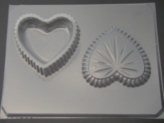 926 Large Heart Pour Box Chocolate Candy Mold
