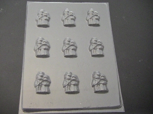 1003 Bride Groom Bite Size Chocolate Candy Mold