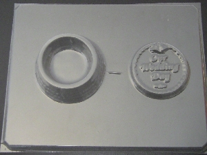 1016 Our Wedding Day Pour Box Chocolate Candy Mold