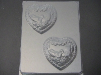 1000 Swan Heart Chocolate Candy Mold