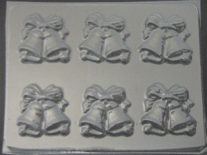 1004 Wedding Bells Chocolate Candy Mold