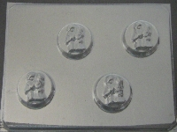 1011 Bride Groom Sandwich Cookie Chocolate Candy Mold