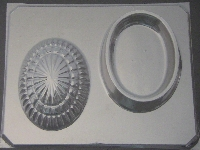 1014 Oval Pour Box Chocolate Candy Mold